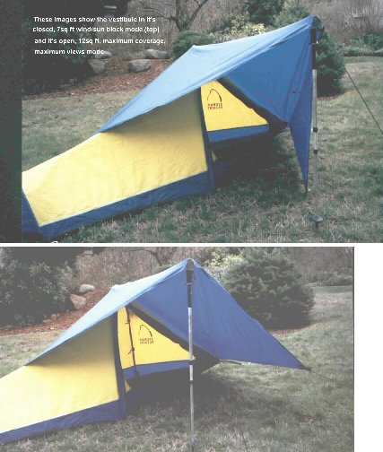 Vestibule & Make Your Own Lightweight Tent Vestibule