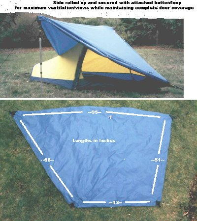 Vestibule Pattern & Make Your Own Lightweight Tent Vestibule