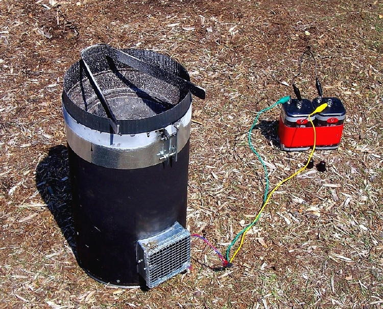 Doc S Smity Camp Stove Homemade Wood Burning Stove