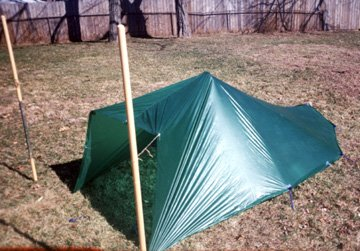 I donu0027t know what his final weights are -- he can tell you that. & Homemade Lightweight Backpacking Tarptent
